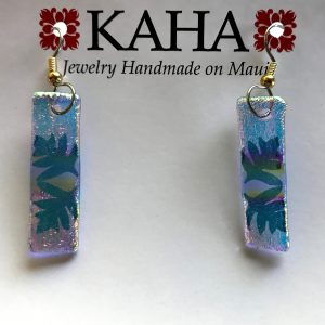 Fern design - earrings by KAHA.